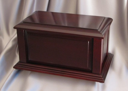 Manchester Satin Cherry | Stubberfield Funeral Home