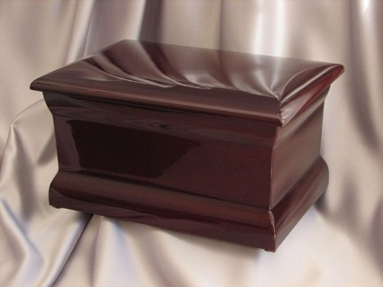 Polished Mahogany | Stubberfield Funeral Home