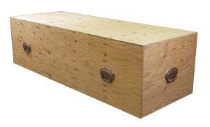 Shipping Box - Casket   Stubberfield Funeral Home